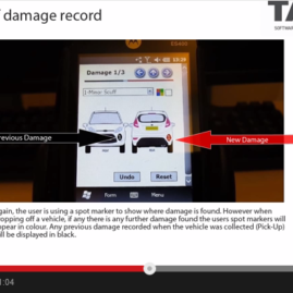 PDA Demo – Vehicle Damage