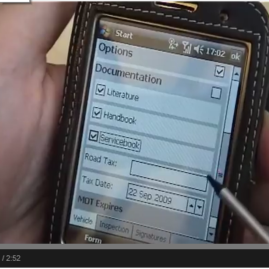 PDA Demo – Data Capture